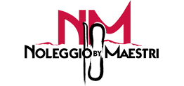 Logo noleggio sci by maestri